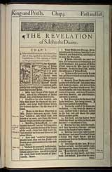 Revelation Chapter 1, Original 1611 KJV