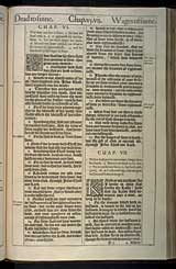 Romans Chapter 6, Original 1611 KJV