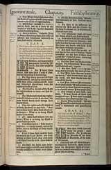Romans Chapter 10, Original 1611 KJV
