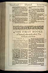 1 Samuel Chapter 1, Original 1611 KJV
