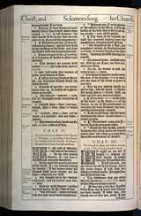 Song of Solomon Chapter 2, Original 1611 KJV