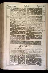 Judith Chapter 1, Original 1611 KJV