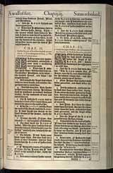 Zechariah Chapter 3, Original 1611 KJV