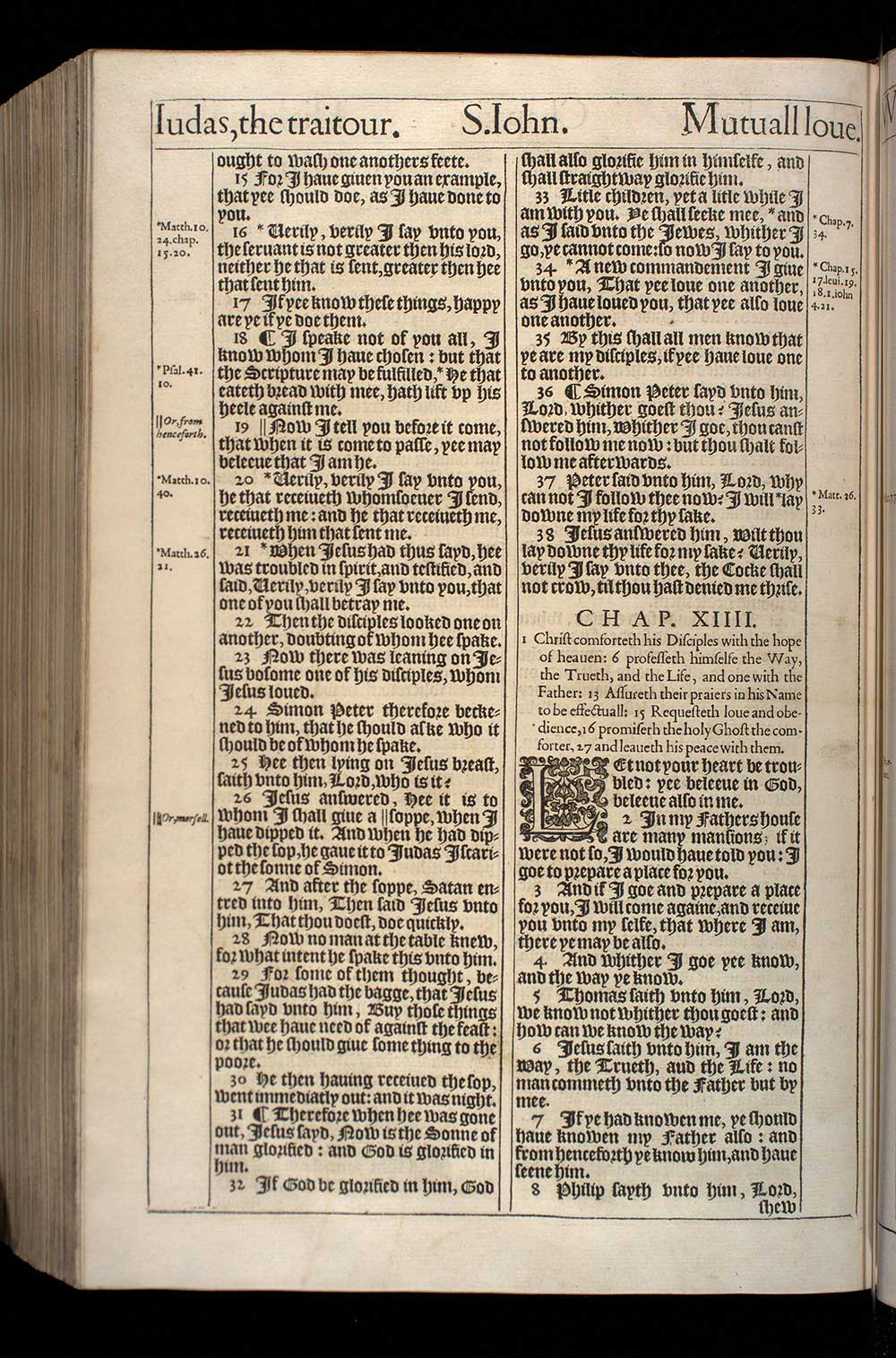 John Chapter 14 Original 1611 Bible Scan