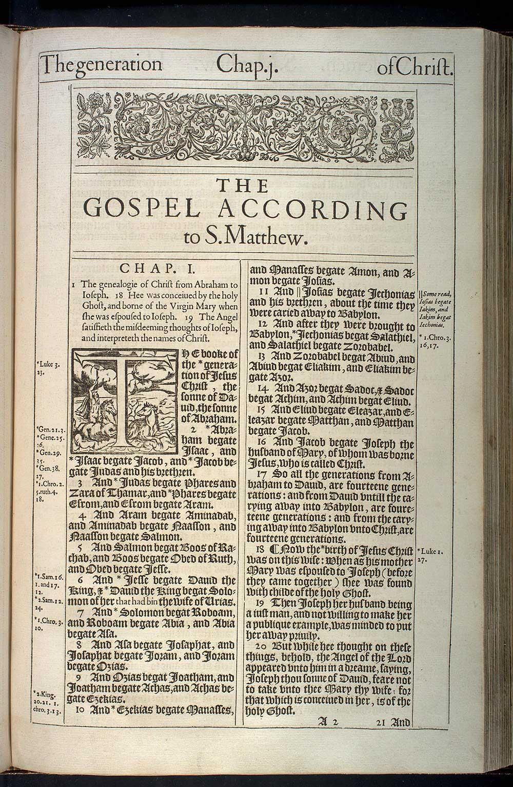 Book of matthew king james version
