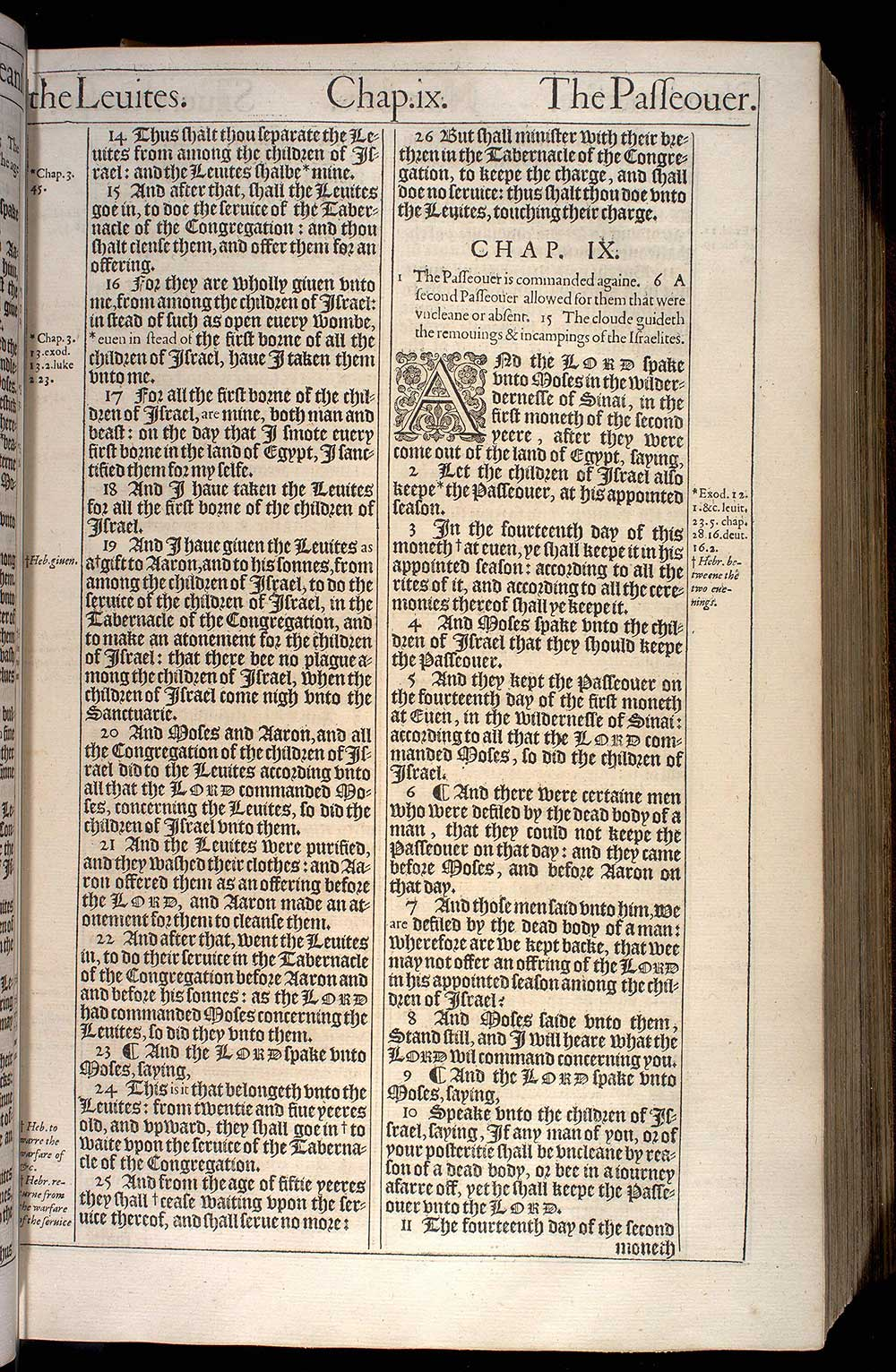 THE FOURTH BOOKE OF MOSES, CALLED NUMBERS. (ORIGINAL 1611 KJV)