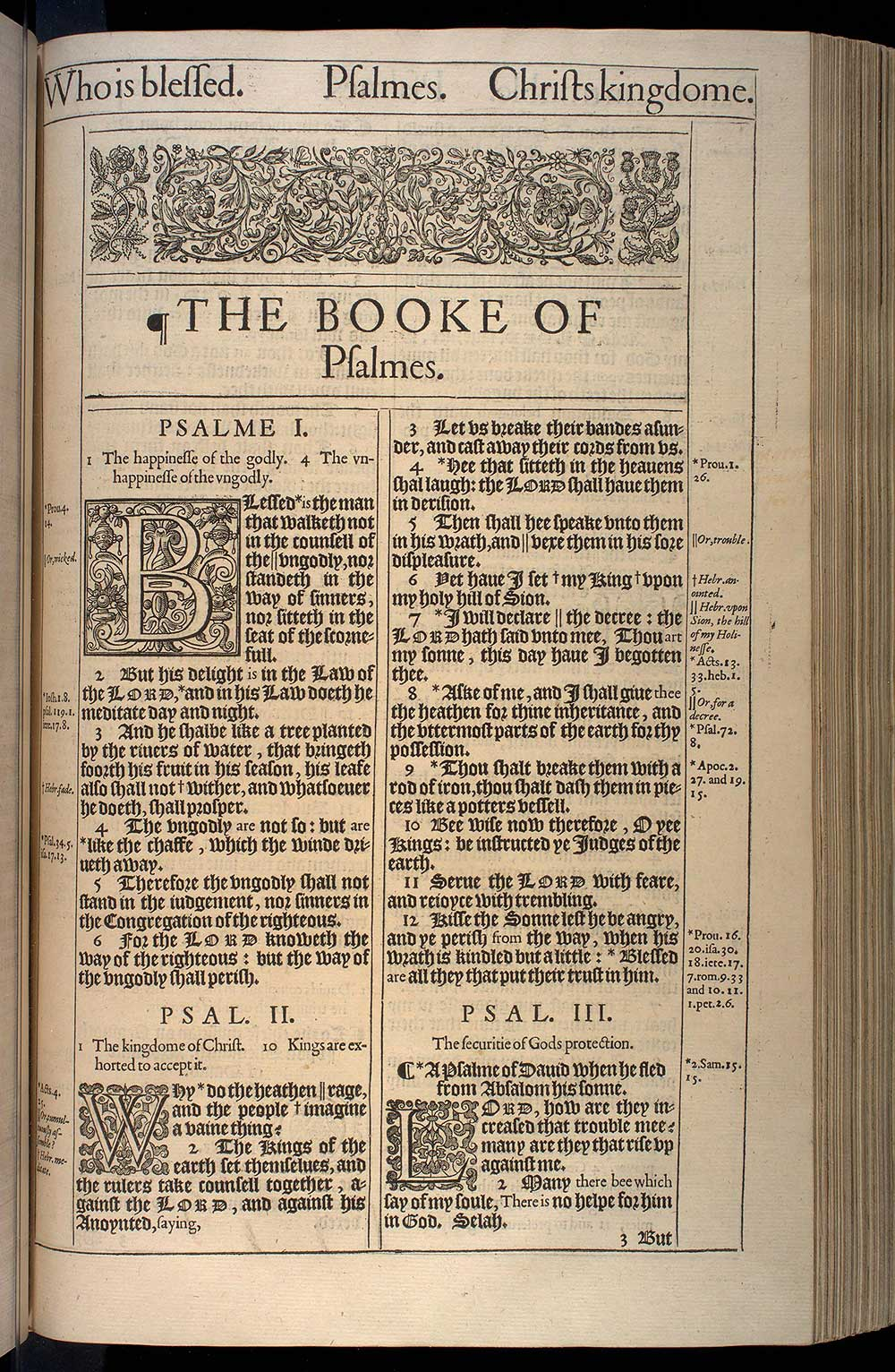 book of psalms king james version