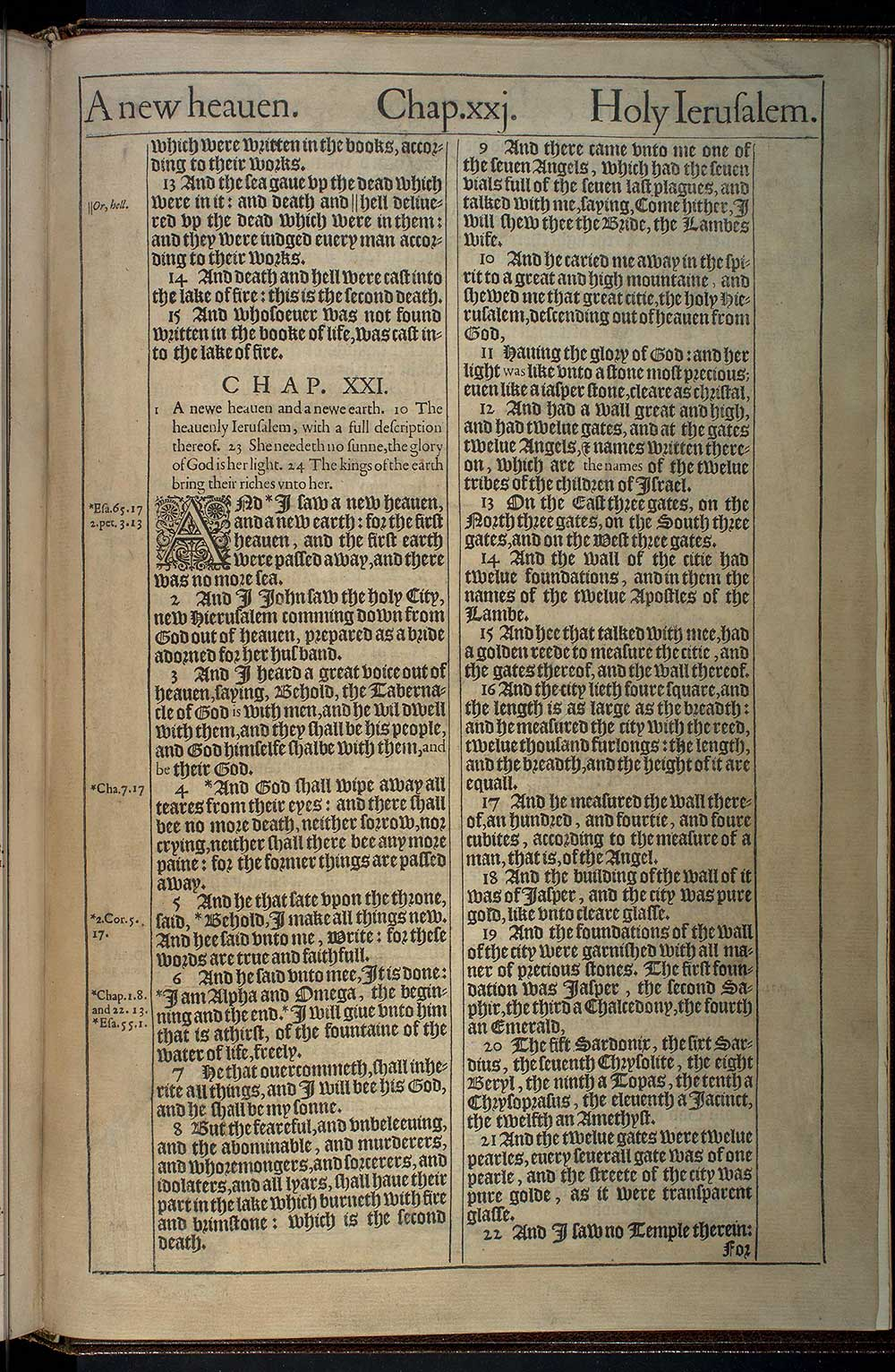 The Revelation Of S  Iohn The Diuine   Original 1611 Kjv