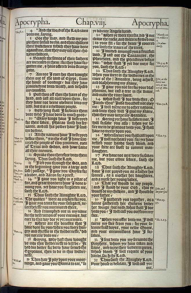 2 Esdras Chapter 1 Original 1611 Bible Scan