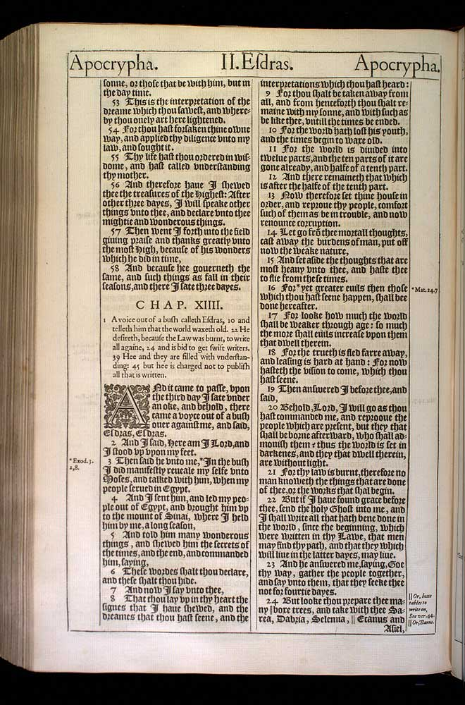 2 Esdras Chapter 13 Original 1611 Bible Scan
