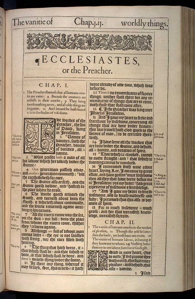 """a letter to kohelet Toward ecclesiastes' conclusion, the preacher addresses the vanity of the writing  profession in particular, warning that """"of making many books."""