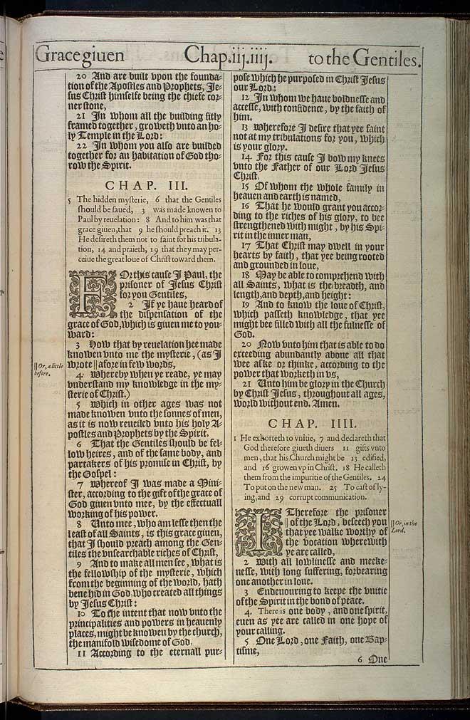 Ephesians Chapter 2 Original 1611 Bible Scan
