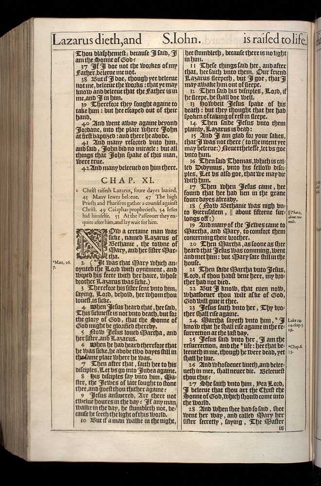 John Chapter 10 Original 1611 Bible Scan