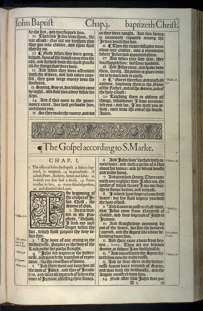 Matthew Chapter 28 Original 1611 Bible Scan