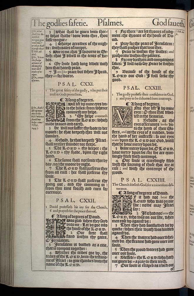 Psalms Chapter 120 Original 1611 Bible Scan