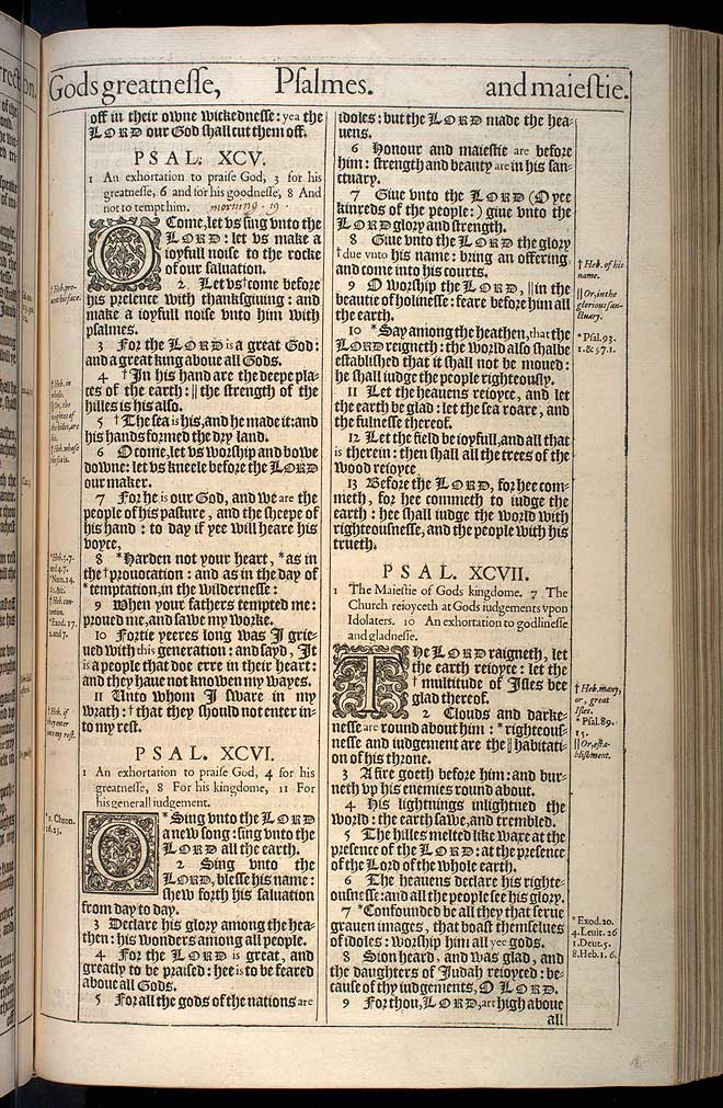 Psalms Chapter 94 Original 1611 Bible Scan