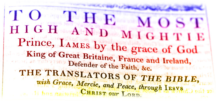 1611 King James Bible Introduction