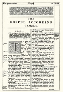 Matthew - 1611 King James Bible