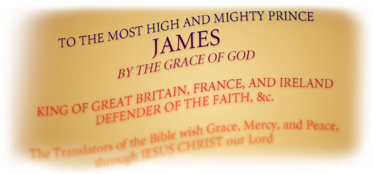 1769 King James Bible Introduction