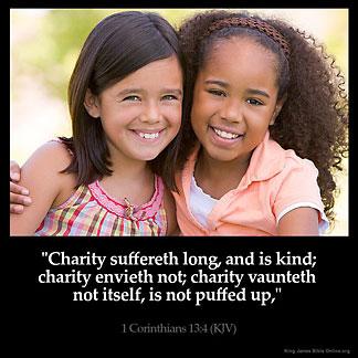 Inspirational Image for 1 Corinthians 13:4