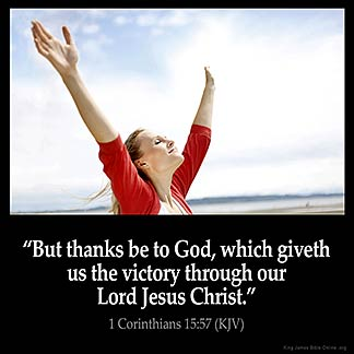 Inspirational Image for 1 Corinthians 15:57
