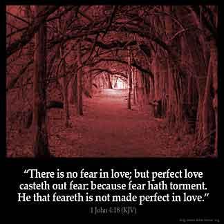 Inspirational Image for 1 John 4:18