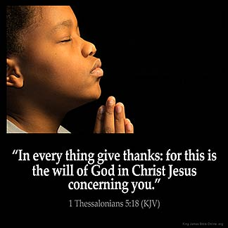 Inspirational Image for 1 Thessalonians 5:18