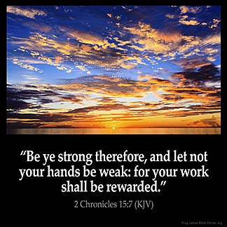Inspirational Image for 2 Chronicles 15:7
