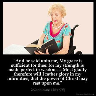 Inspirational Image for 2 Corinthians 12:9