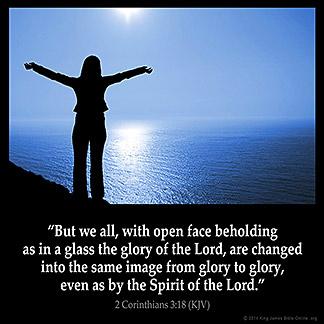 Inspirational Image for 2 Corinthians 3:18