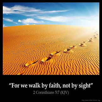 Inspirational Image for 2 Corinthians 5:7