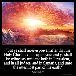Inspirational Image for Acts 1:8