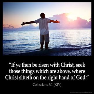 COLOSSIANS 3:1 KJV