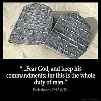 Inspirational Image for Ecclesiastes 12:13