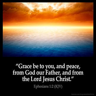 Inspirational Image for Ephesians 1:2