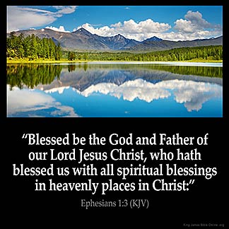 Inspirational Image for Ephesians 1:3