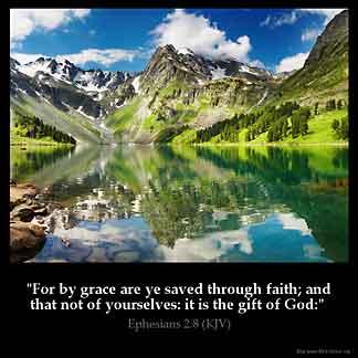 Inspirational Image for Ephesians 2:8