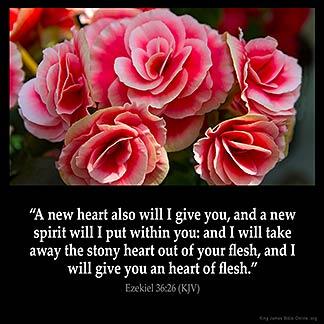 Inspirational Image for Ezekiel 36:26