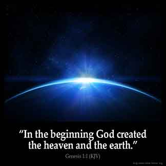 Inspirational Image for Genesis 1:1