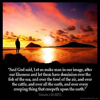 Inspirational Image for Genesis 1:26
