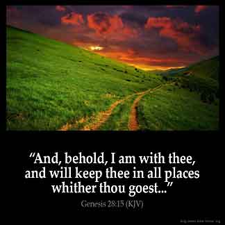 Inspirational Image for Genesis 28:15