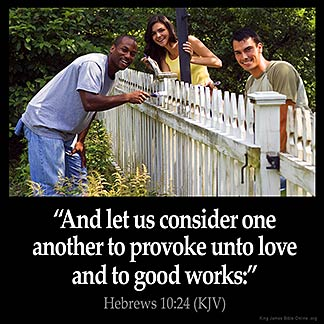 Inspirational Image for Hebrews 10:24
