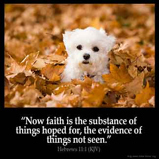 Inspirational Image for Hebrews 11:1