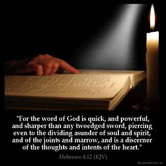 Inspirational Image for Hebrews 4:12