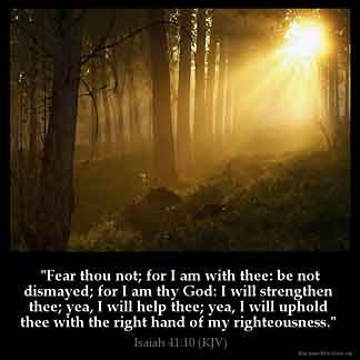Inspirational Image for Isaiah 41:10