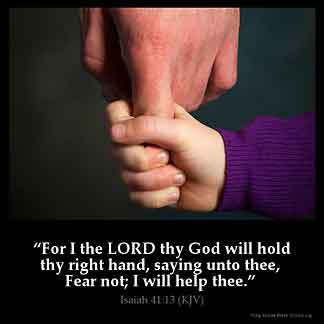 Inspirational Image for Isaiah 41:13