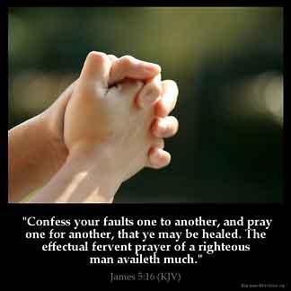 Inspirational Image for James 5:16