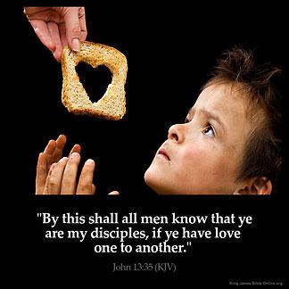 Inspirational Image for John 13:35