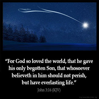 Inspirational Image for John 3:16