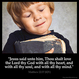 Inspirational Image for Matthew 22:37